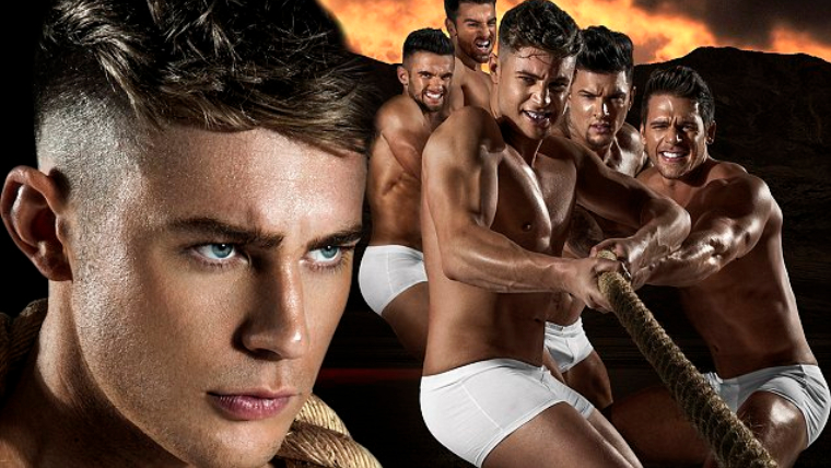 male strip show blog | Geordie Shore boys Scotty T and Gaz Beadle strip off for Dreamboys