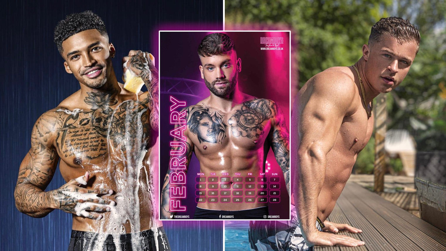 male strip show blog | Dreamboys 2021 calendars: The perfect gift to give this Christmas