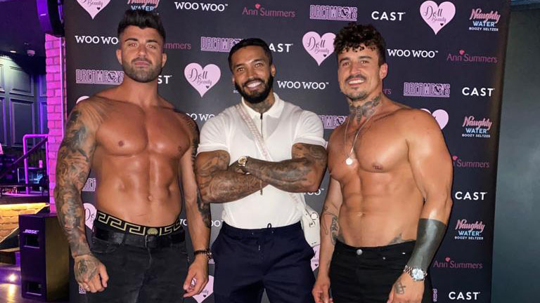 male strip show blog | Dreamboys Tour Special Guests