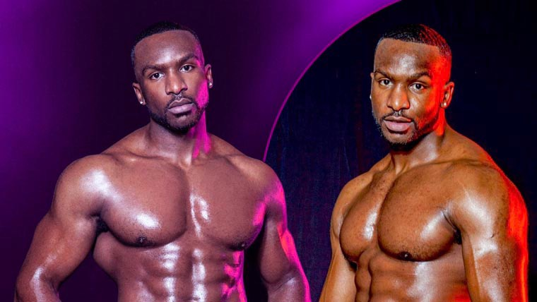 Male Strippers | Dreamboys Tour: Who is Pjay Finch?